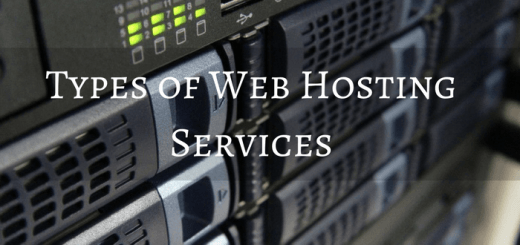 Classification Of The Trending  Web Hosting Services