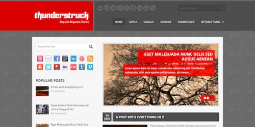 MyThemeShop ThunderStruck WordPress Theme