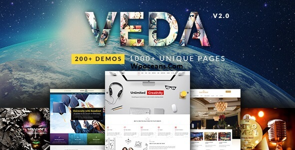 VEDA v3.6 - Multi-Purpose Theme By Wpoceans