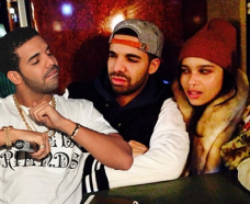 Drake poked fun of himself with this meme on his instagram account