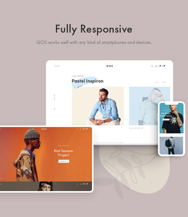 QOS - Fashion WooCommerce WordPress Theme - 2