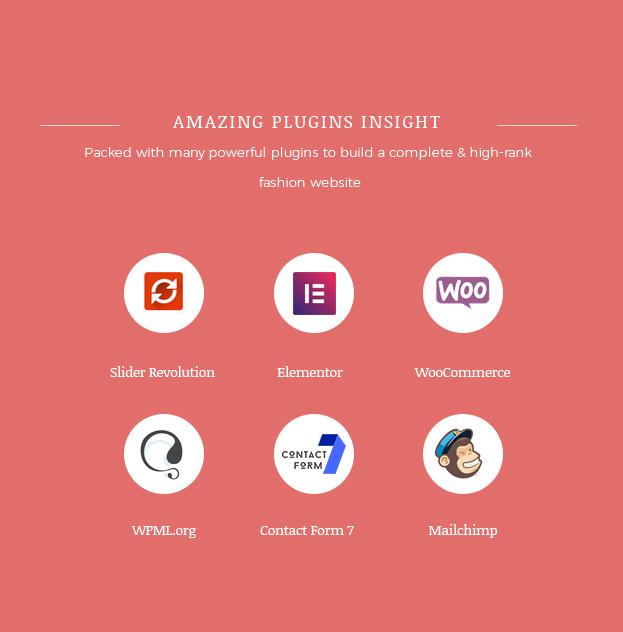 Multiple Plugins Included Fashion WooCommerce WordPress Theme