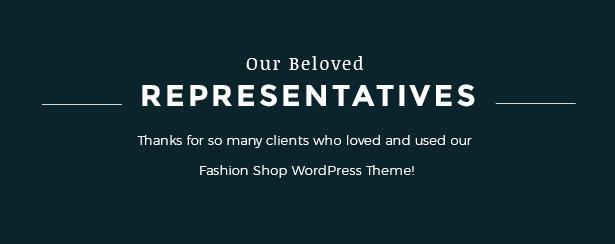 Portfolio's showcase Fashion WooCommerce Responsive WordPress Theme