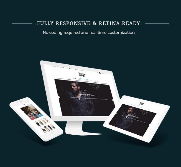 Responsive Fashion WooCommerce WordPress Theme