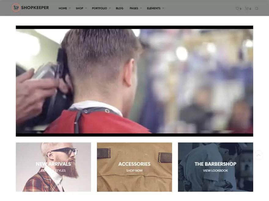 shopkeeper-best premium wordpress store themes