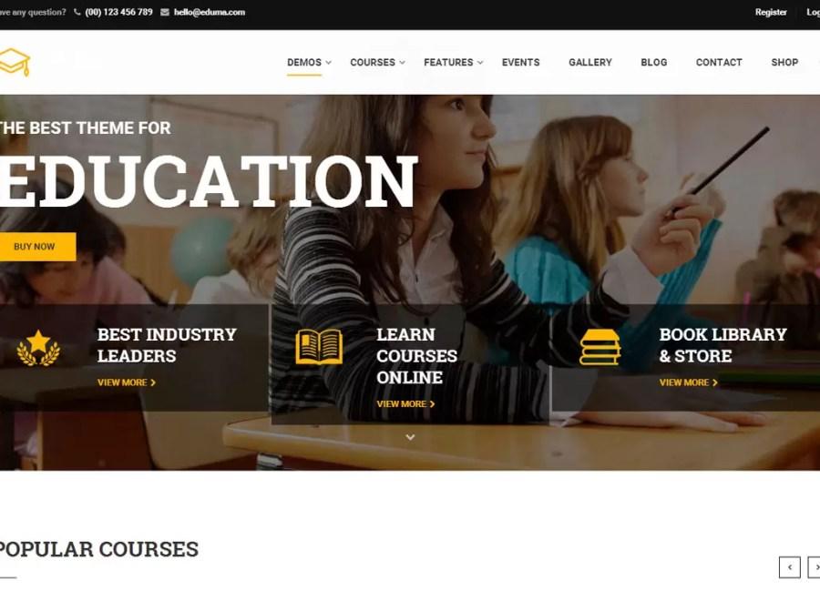 Education WP - 10+ Premium Educational WordPress Themes 2017