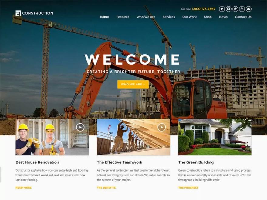 construction-best construction wordpress themes