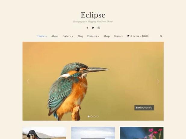 Eclipse-premium blogging theme