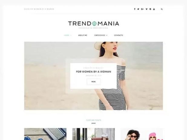 Trendomania-premium blogging theme