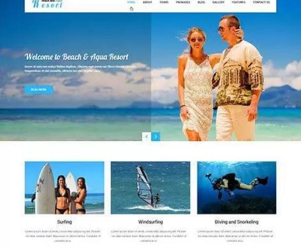sktbeach-Best Premium WordPress Business Themes