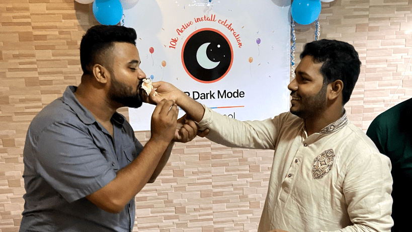 WP Dark Mode 10k+ Active Installation Journey: We Are Now a Family of 10000+ Members