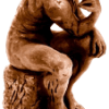 the Thinker replica 3