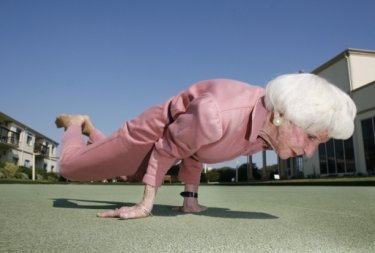 Don't underestimate the power of Yoga to keep senior citizens active.