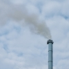 CO2 Emissions from a chimney stack