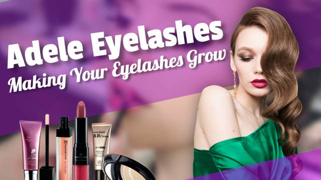"""Image is the feature image which illustrates the article about """"Adele Eyelashes false and fake""""."""