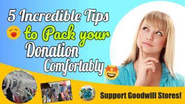Image illustrates tips to pack your donation as a featured image.