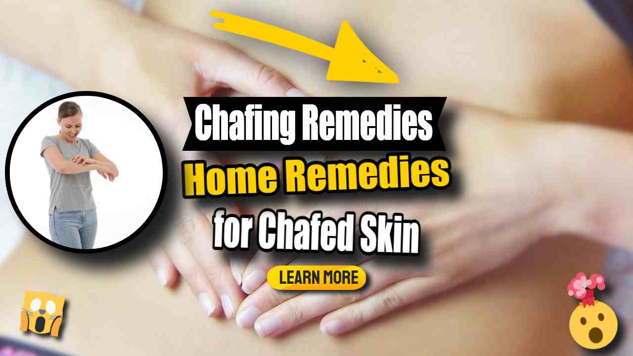 """Image text: """"Chafed Skin Prevention and Cure""""."""