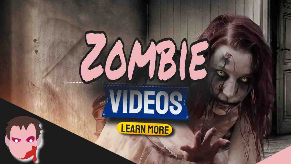 """Image text: """"Zombie Videos""""."""