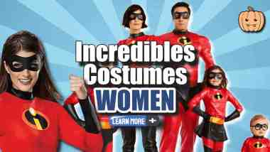 """Image text: """"Incredibles Costume Women""""."""