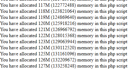 php-memory-limit-test