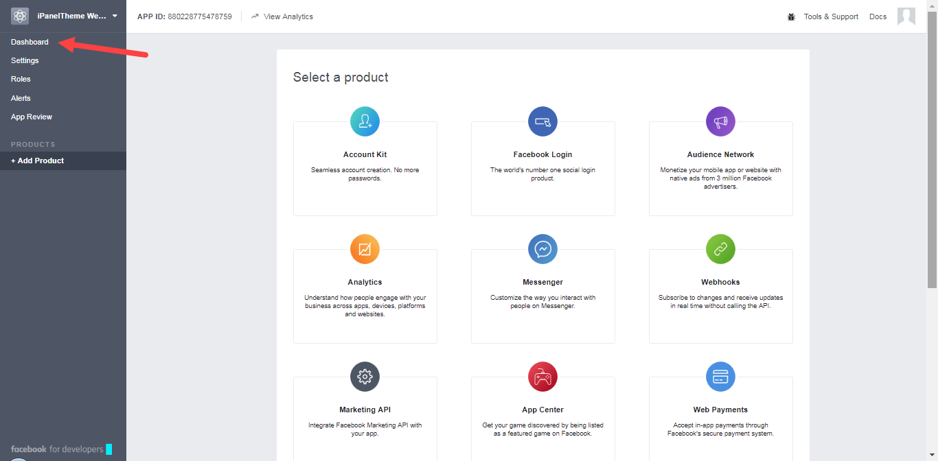 Creating a facebook APP and enabling login - Social Apps