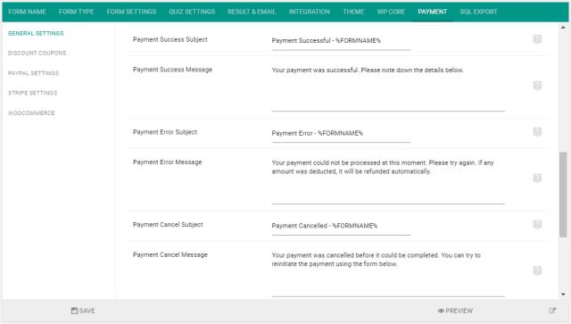 FSQM-Payment-Messages