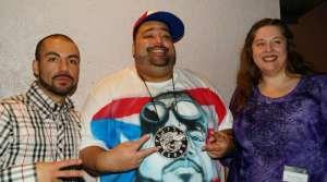 """Pacal """"DJ Pain 1"""" Bayley, ShaH Evans, Karen Reece of the Madison Hip-Hop Awards"""