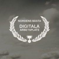 Logotype: Nordens bästa digitala arbetsplats