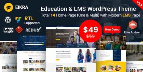Eikra Wordpress Theme
