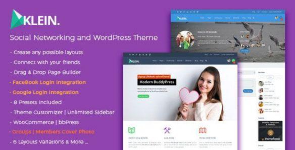 Klein Wordpress Theme