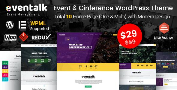 EvenTalk WordPress theme