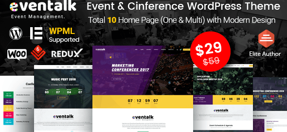 EvenTalk WordPress theme