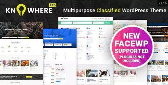 Knowhere Pro Wordpress Theme