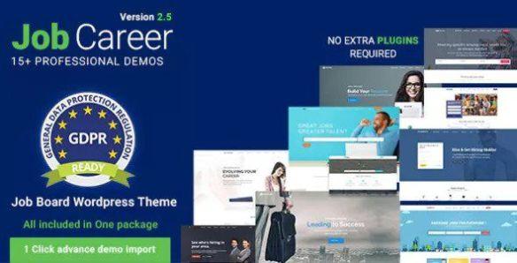 JobCareer WordPress theme