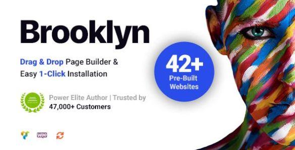 BrooklynWordPress Theme