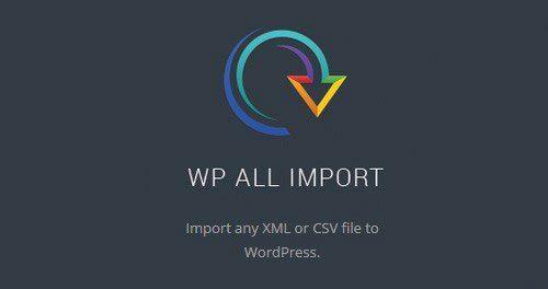 WP All Import Pro Plugin