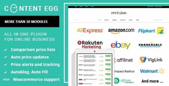 Content Egg Wordpress Plugin
