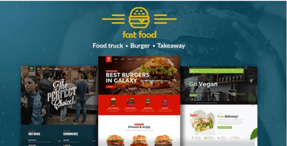 Fast food Wordpress Theme