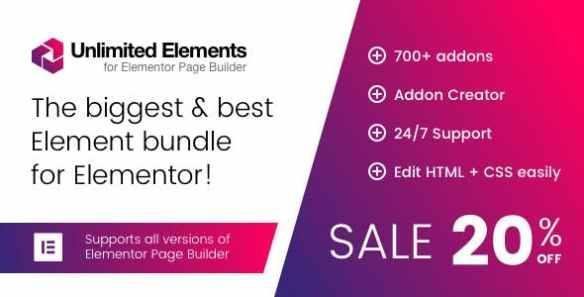 Unlimited Elements Wordpress Plugin