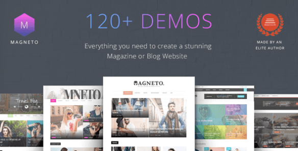 MAGNETO Wordpress Theme
