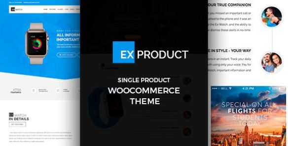 exproduct wordpress theme