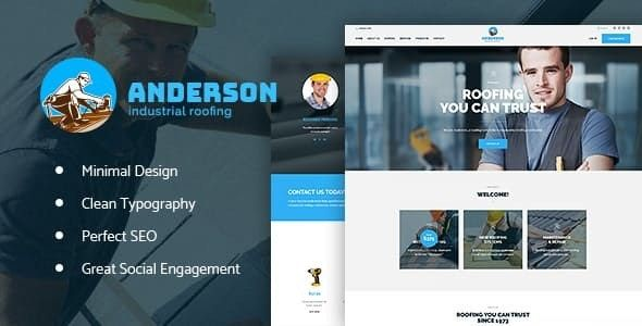 Anderson Wordpress Theme