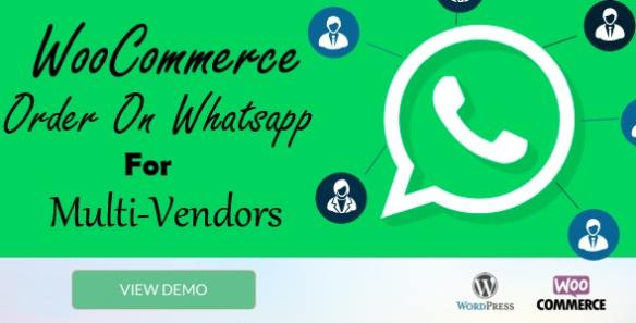WooCommerce Order On Whatsapp for Dokan Multi Vendor Marketplaces