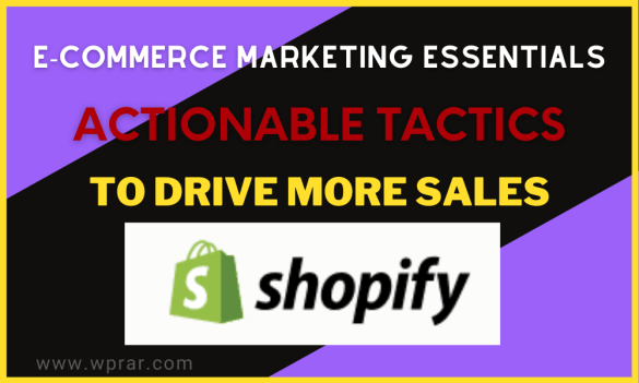 E-commerce Marketing Essentials