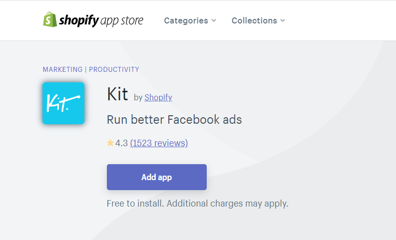 Kit Shopify Marketing Tool