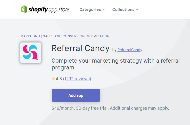 Refferral Candy Shopify Marketing Tool, Shopify Tools
