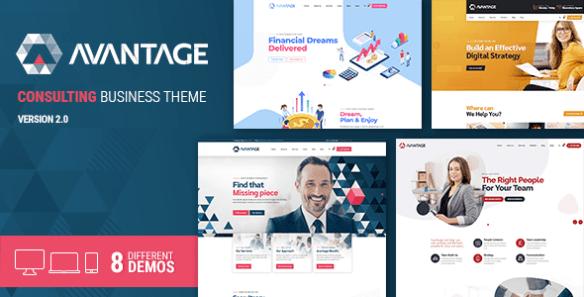 Avantage Business Consulting Wordpress Theme