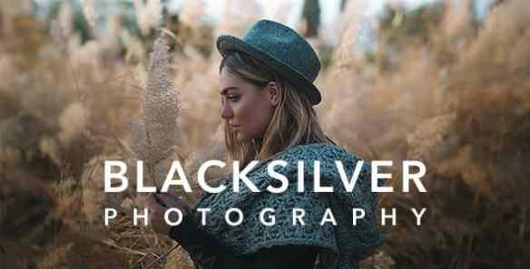 Blacksilver Photography WordPress Theme