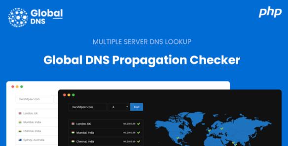 Global DNS-Multiple Server-DNS Propagation Checker-WP