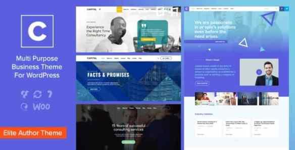 capital multi purpose business wordpress theme